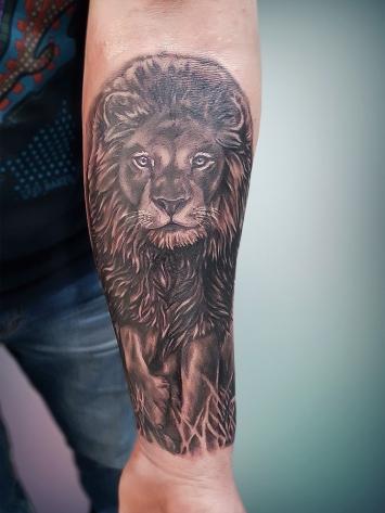 tatuaj-leu