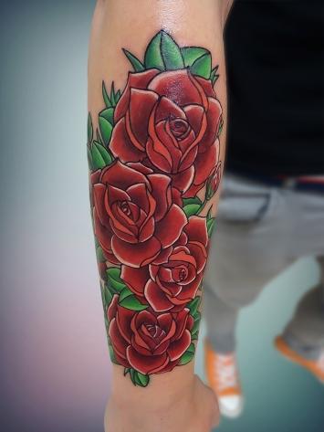 tatuaje-flori-color